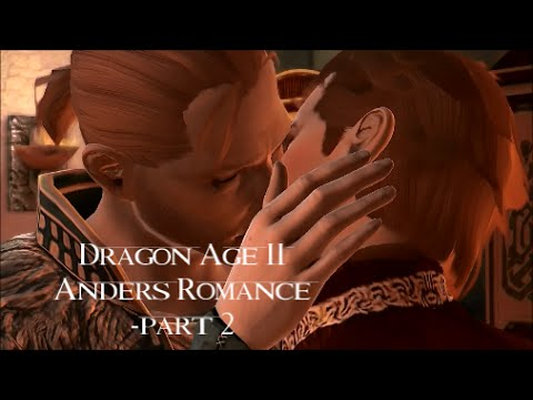 Dragon Age 2 - Anders Romance -male Hawke -Friendship - part 2