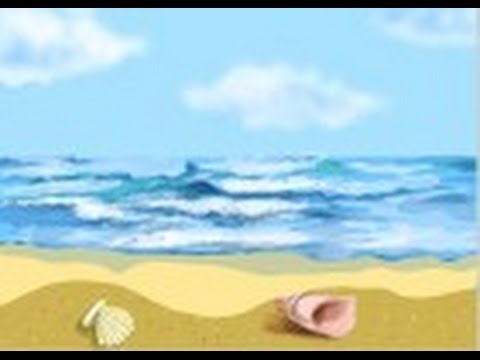How to draw an ocean youtube how to draw an ocean ccuart Gallery
