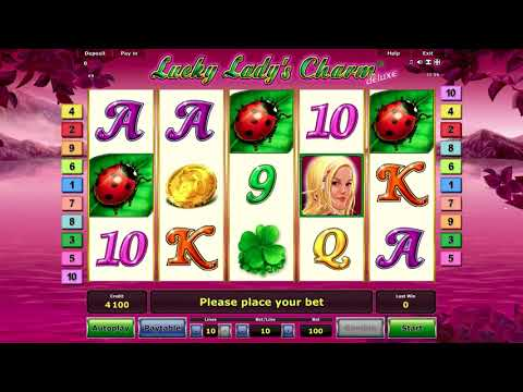 Lucky Lady's Charm Deluxe online free slot game - 동영상