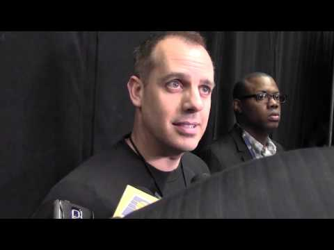 Practice: Vogel on Meeting Dungy, Playoff Race, Rotation