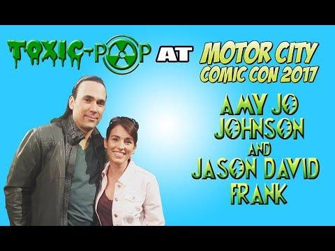Amy Jo Johnson And Jason David Frank Panel at Motor City Comic Con 2017