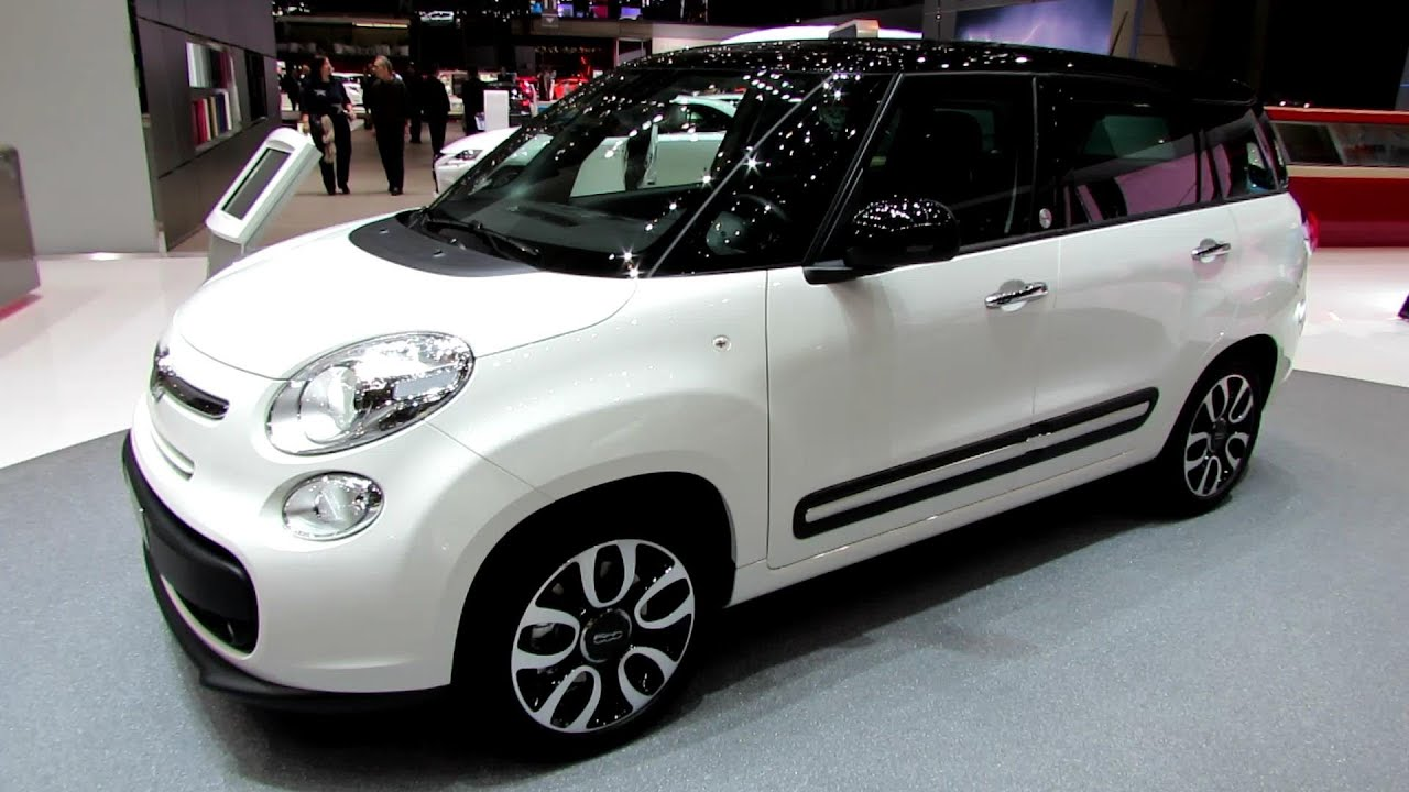2014 fiat 500l living exterior and interior walkaround 2014 geneva motor show youtube. Black Bedroom Furniture Sets. Home Design Ideas