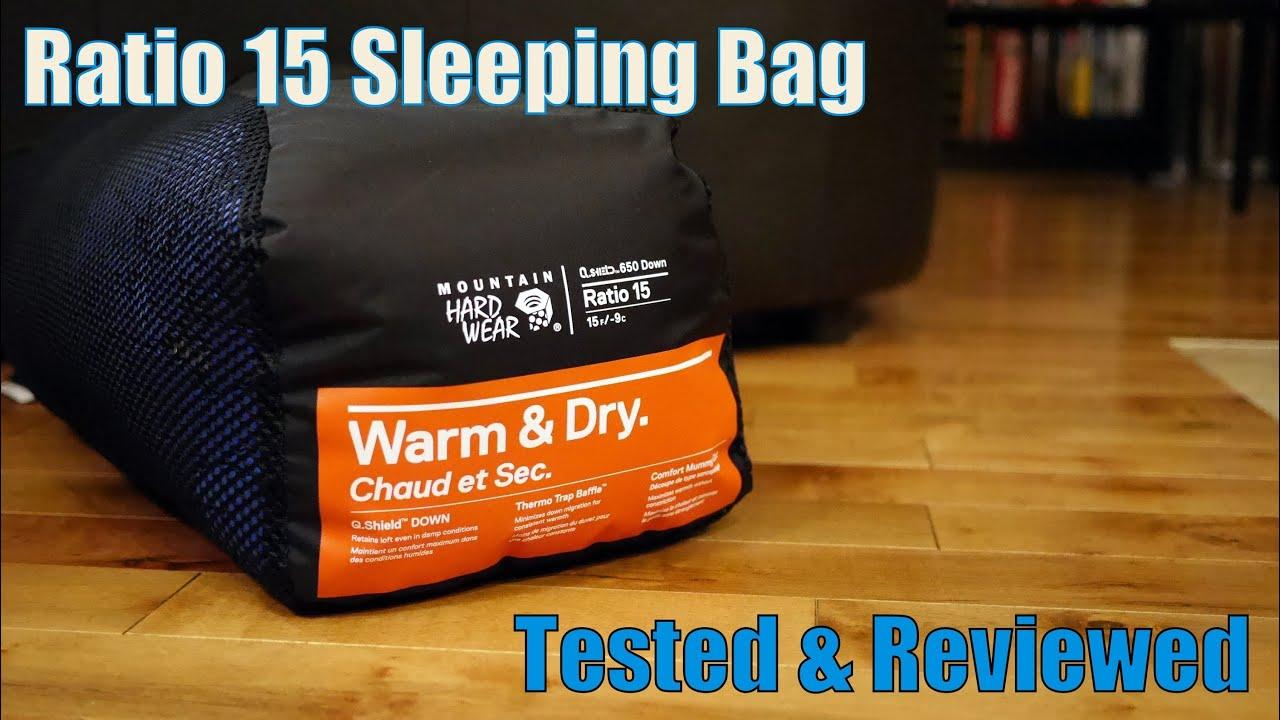 Mountain Hardwear Ratio 15 Sleeping Bag Tested + Reviewed ...