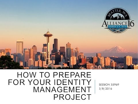 How to Prepare for your IAM Project