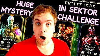 Sektor Triborg Challenge review in MKX Mobile. HELP ME SOLVE THE MYSTERY!