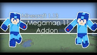 MegaMan 11 Add On for Minecraft Java [1.13+]