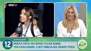 Eurovision 2019 – Ευρυδίκη: «Η Ντούσκα ξεχωρίζει από τις άλλες συμμετοχές»!