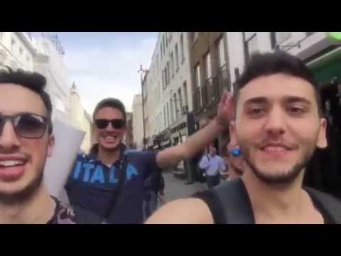 Italy goes to Leicester - king power stadium FINAL MATCH - gopro HD
