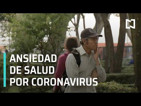 Ansiedad de salud, por coronavirus l Ansiedad y miedo al coronavirus - Las Noticias