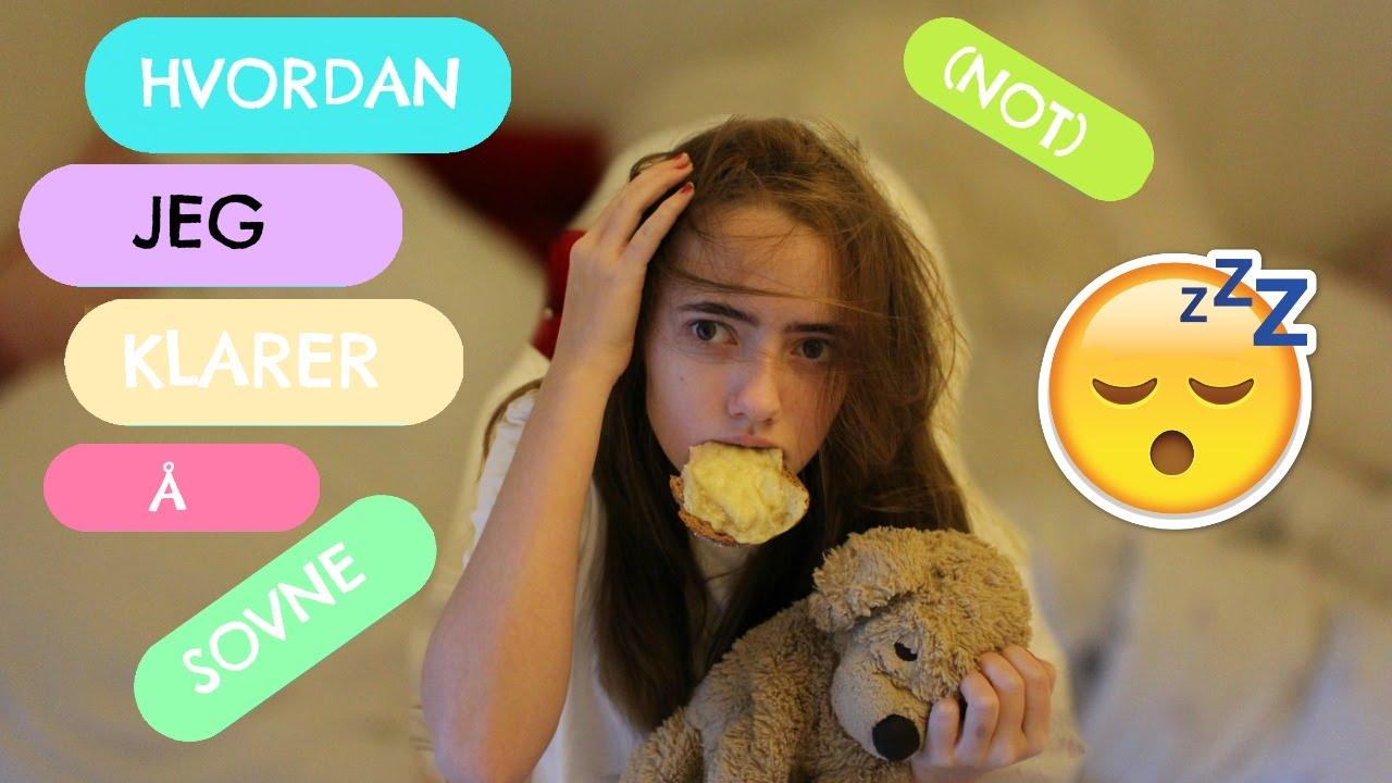 Hvordan Jeg Klarer Å Sovne - YouTube