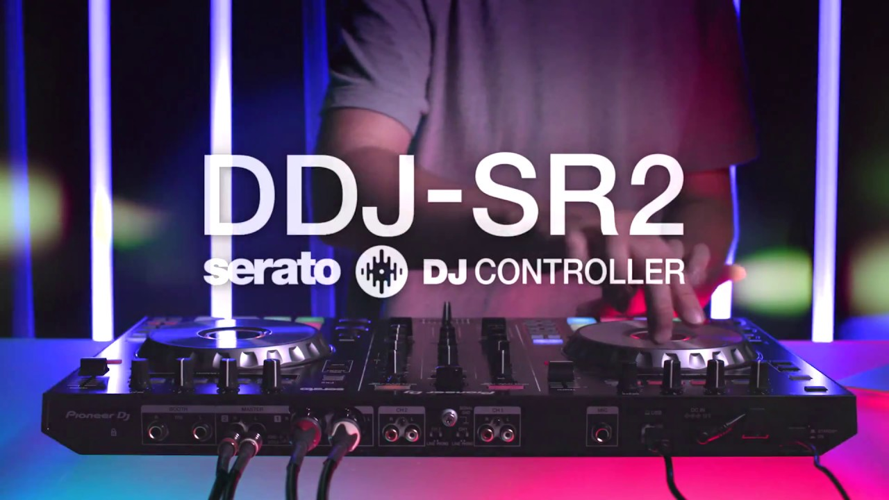 Pioneer DJ DDJ-SR2 4-deck Serato DJ Pro Controller | Sweetwater