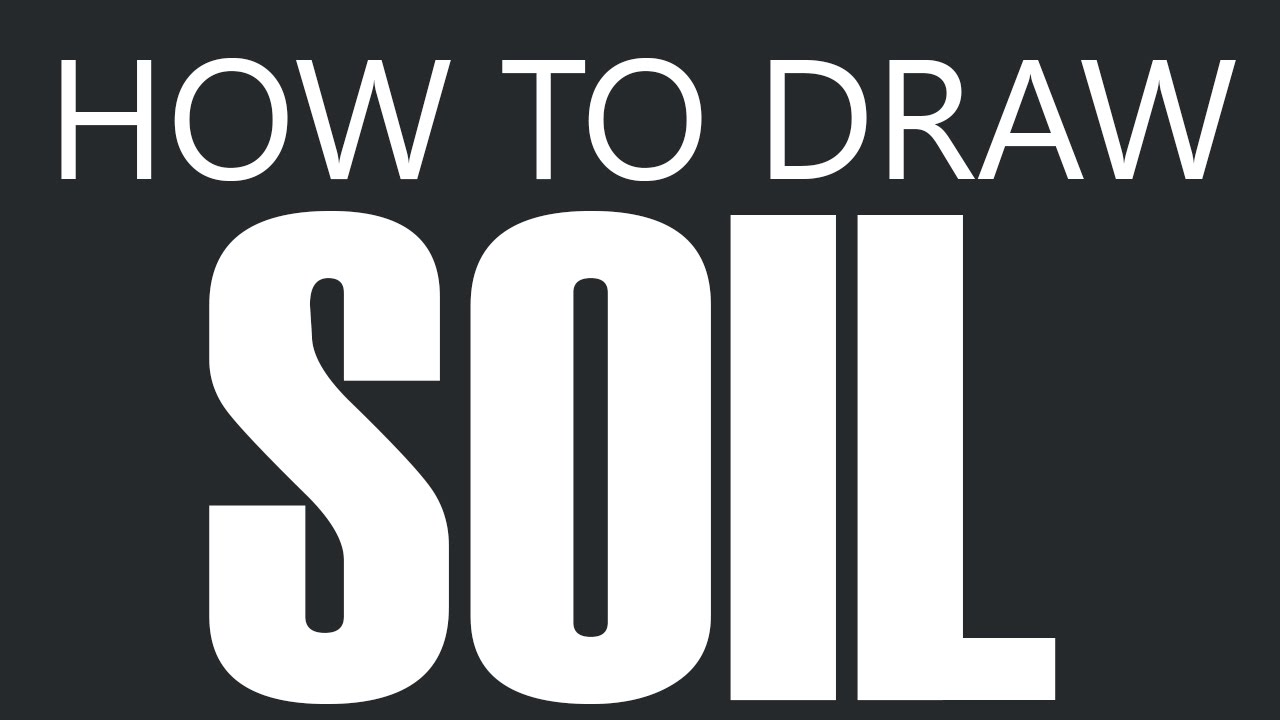 How To Draw Soil Top Soil Planting Dirt Drawing Plant