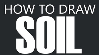 How To Draw Soil - Top Soil Planting Dirt Drawing (Plant Soil)