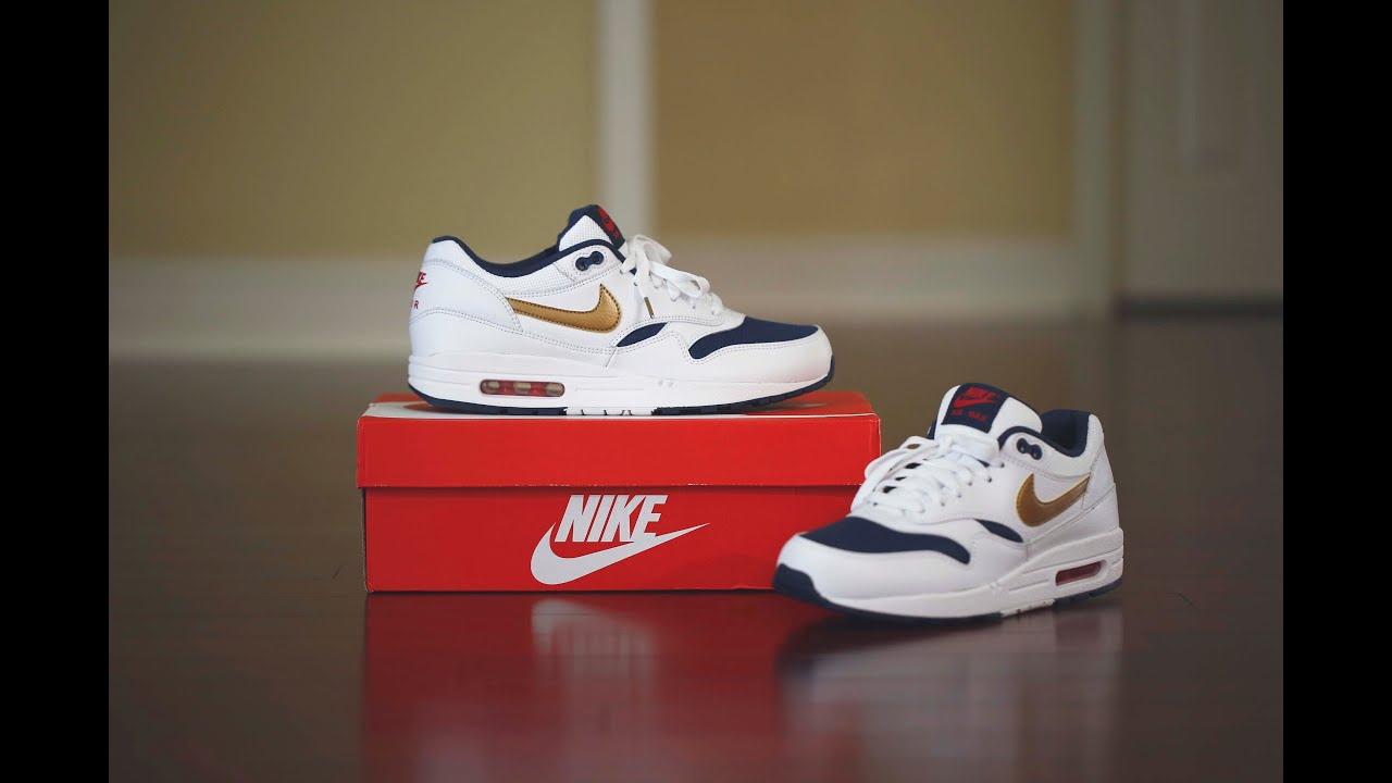 Women's Air Max 1 Lifestyle Shoes. Nike