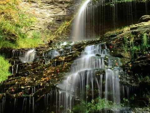 Фото слайд-шоу Природа. Водопады и ручьи. Часть 12.