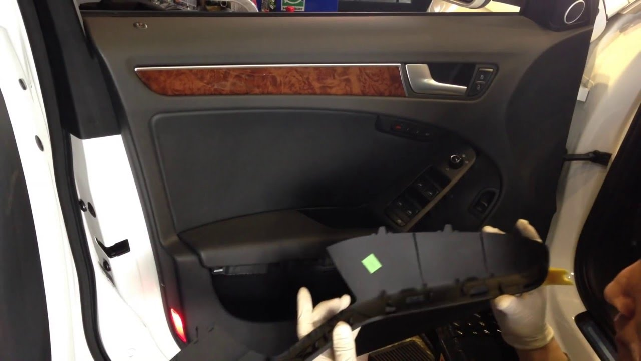 How To Audi A4 B8 Q5 Remove Door A4 YouTube