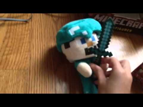 Diamond Steve plush, Minecraft nether rack series