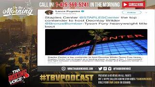 🔥Deontay Wilder Vs Tyson Fury Dec 1st In LA ⁉️Staples Center Front Runner 🏃♂️