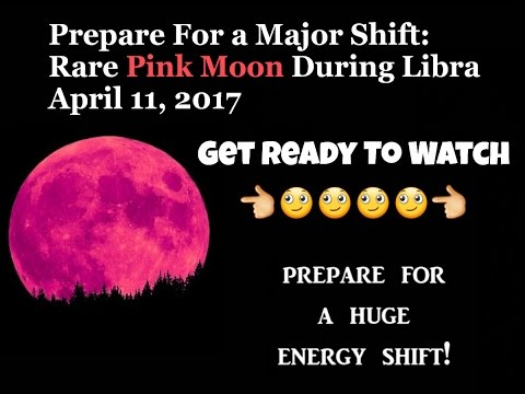 Are You Ready For The Full Pink Moon 11th April 2017 Youtube
