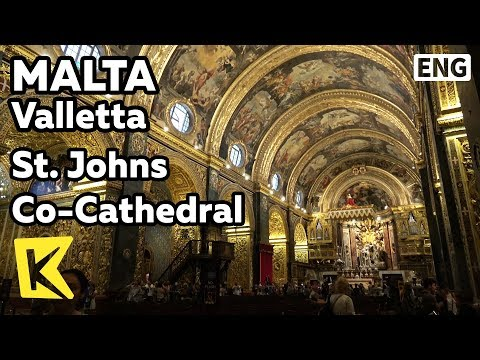 【K】Malta Travel-Valletta[몰타 여행-발레타]8개의 예배당 성 요한 대성당/Unesco/St. John's Co-Cathedral/Tomb/Knights