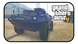 GTA ONLINE NEW APC VEHICLE CUSTOMISATION! - (GTA Online Gunrunning DLC)