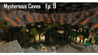 Minecraft aventure - Mysterious Caves - Ep 9