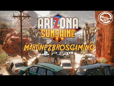 Arizona Sunshine PSVR Octobers Scary Game Month