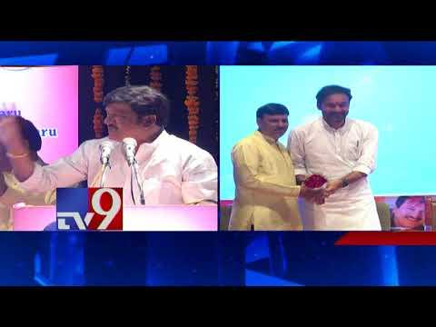 Rajendra Prasad is my Guru - Actor Brahmanandam at Padma Mohana Awards - TV9
