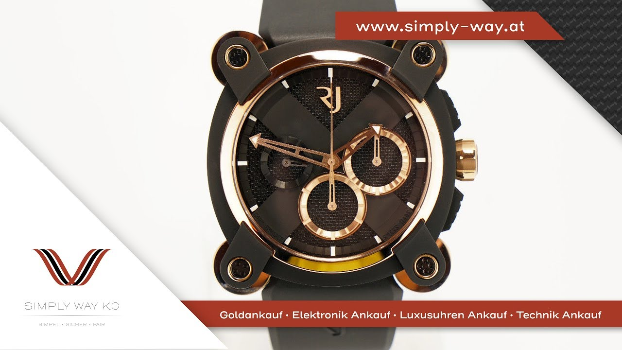 Romain Jerome Moon Invader Ref  RJ.M.CH.IN.004 Chronograph Automatik Limited aa6b4cc243