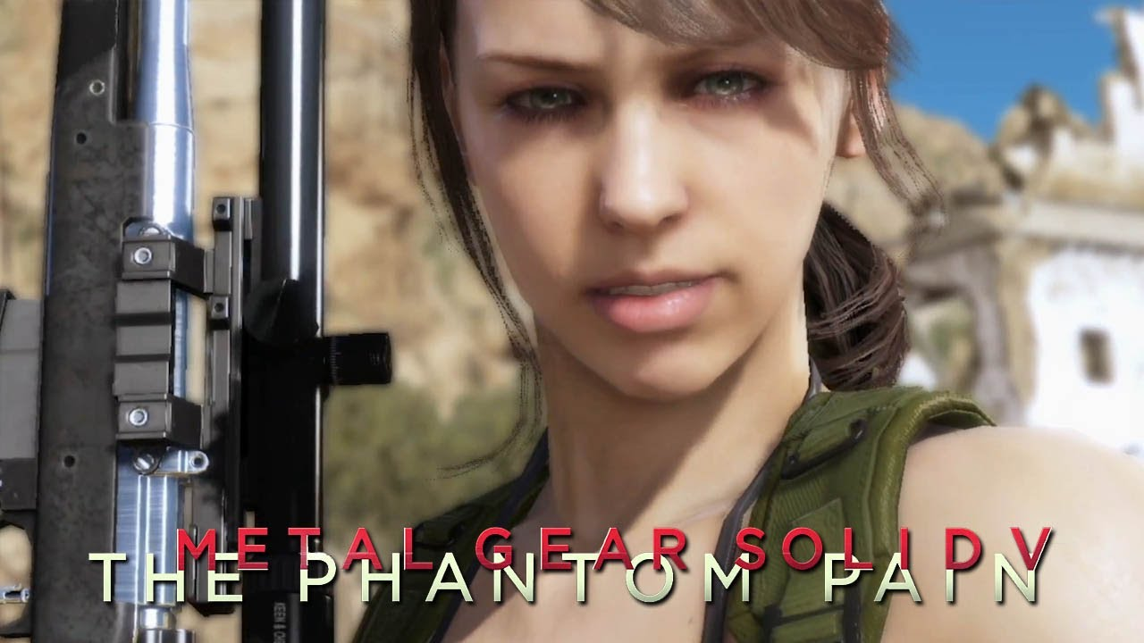 Metal Gear Solid 5 The Phantom Pain Character Making Quiet 1080p TRUE HD QUALITY