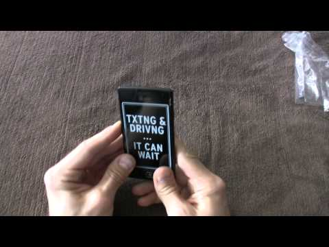 Samsung Focus Flash Unboxing