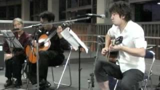 2009年8月14日 美唄駅ライブより 山弦作「ハーベスト」