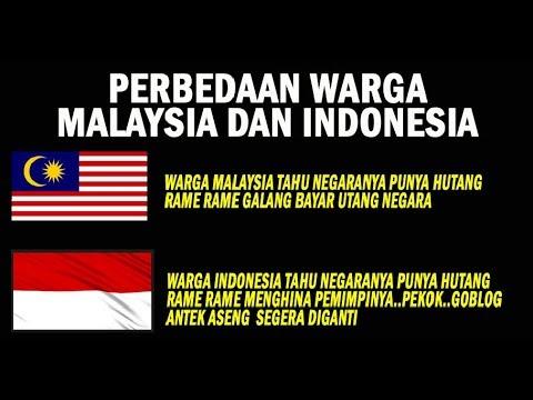 MIRIS..... BEDANYA WARGA MALAYSIA DAN INDONESIA MENYIKAPI HUTANG NEGARA