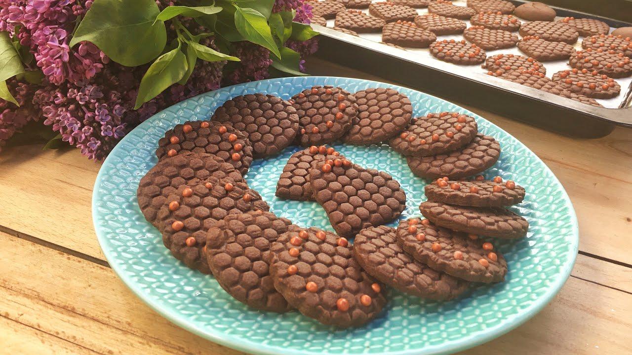 Çikolatalı Petek Kurabiye Tarifi