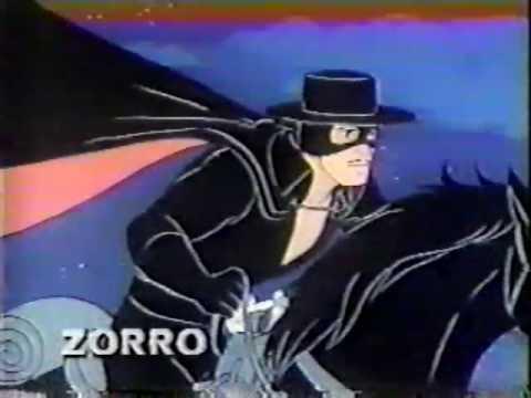 Zorro 1981 CBS Saturdazzle Cartoon Promo