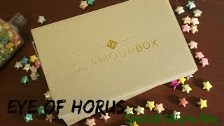 Glamourbox Eye Of Horus Special Edition Box Unboxing