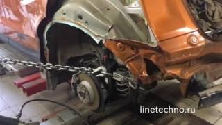 Восстановление геометрии кузова на стапеле в Люберцах(, 2016-09-27T08:38:31.000Z)