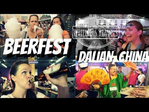 BeerFest / Chinese Oktoberfest | Dalian China | Wheelee's Travels
