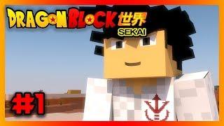 Dragon Block Sekai 世界 : Episode 1 : The Legendary Start