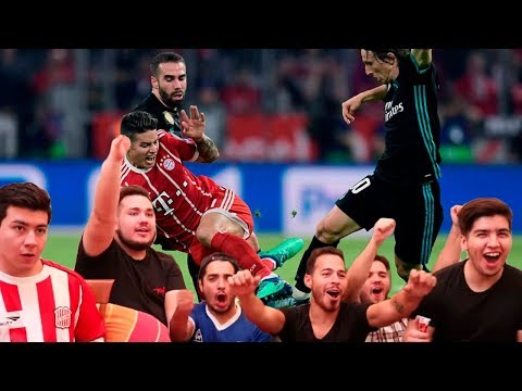 BAYERN MUNICH 1 - REAL MADRID 2  | Semi Final - IDA | UEFA Champions league Vídeo reacción