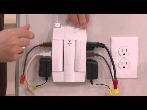 8 Outlet Swivel Surge Protector w/2 USB Ports & 6 Standard Ports by Globe with Rick Domeier