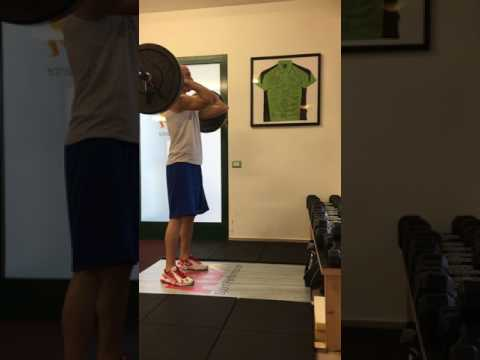 Front Squat at AB Sport Performance