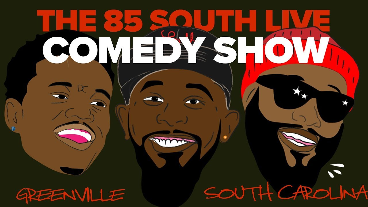 The 85 South Show Live Comedy Show in Greenville w/ @kalousm @dcyoungfly & @chicobean