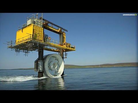 Les courants marins, énergie de demain