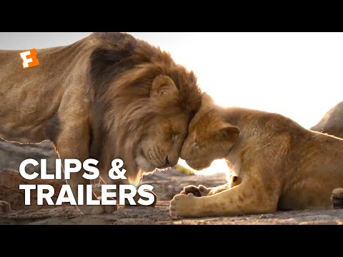 The Lion King ALL Clips + Trailers (2019) | Fandango Family