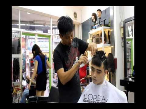 Hướng dẫn cắt tóc nam-Net viet salon