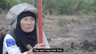 Laos - The fight against the deadly legacy of U S bombing