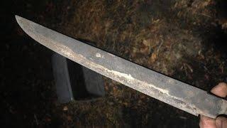 Bladesmithing: Hamon Clay and Heat Treat