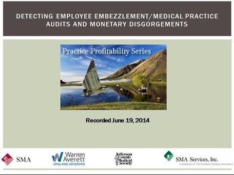 Detecting Employee Embezzlement