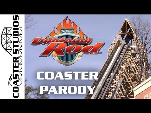 Coaster Parody: Lightning Rod at Dollywood